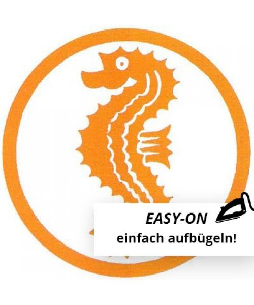 """Original Abzeichen Frühschwimmer """"Seepferdchen"""" Easy-On"""