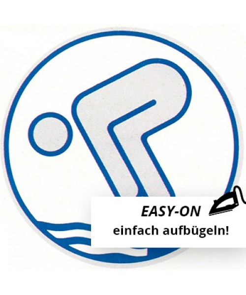 Deutsches Schwimmabzeichen - Silber Easy-On
